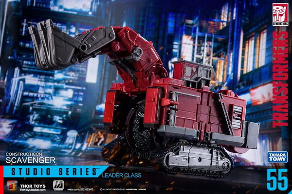 Скавенджер трансформер Studio Series 55 Leader Scavenger